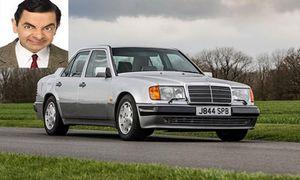 Mr Bean bán đấu giá xe Mercedes-Benz 500E hàng hiếm