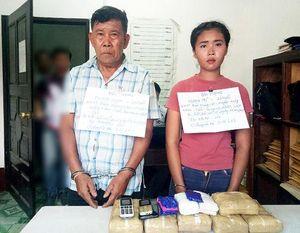 Thiếu nữ 20 tuổi và đồng bọn đưa số ma túy 'khủng' từ Lào vào Việt Nam
