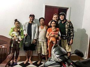 Một cựu binh tìm du khách nước ngoài trao lại tài sản bị đánh rơi