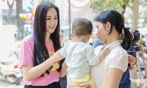 Hoa hậu Mai Phương Thúy ủng hộ 700 triệu cho trẻ bị hở hàm ếch