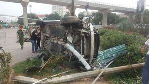 Xác định danh tính lái xe Mercedes đâm người đi xe máy nguy kịch