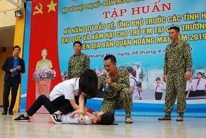 Tập huấn kỹ năng ứng phó với các tình huống xâm hại trẻ em