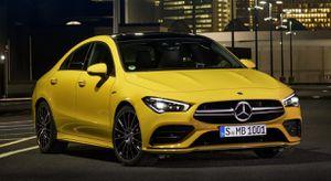 Sedan hiệu suất cao Mercedes CLA 35 lộ diện