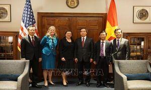 Quan hệ hợp tác toàn diện Việt Nam - Hoa Kỳ còn nhiều tiềm năng phát triển