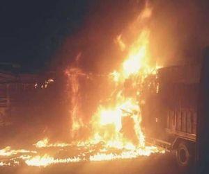 Vụ tai nạn trên QL1A: Đã xác định được danh tính 2 người chết cháy trong xe tải