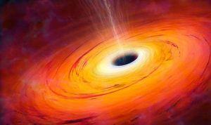 Lần đầu tiên chụp được hình ảnh của lỗ đen khổng lồ