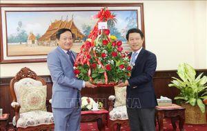 Lãnh đạo Đảng, Nhà nước Việt Nam chúc mừng nhân dịp Tết Lào