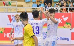 Lượt đi VCK giải futsal HDBank VĐQG 2019: Điểm danh anh hào