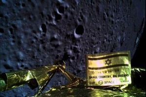 Tàu vũ trụ Israel gặp nạn khi hạ cánh xuống Mặt Trăng