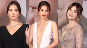 Song Hye Kyo già hơn 'Đát Kỷ' 53 tuổi Ôn Bích Hà tại Kim Tượng 2019