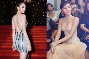 Hoa hậu Tiểu Vy , á hậu Huyền My mặc váy gợi cảm, quyến rũ nhất tuần