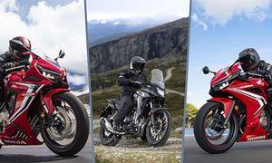 Điểm mặt xe môtô Honda mới chính hãng tại Việt Nam