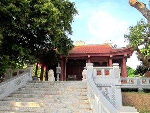 Thầy giáo nổi tiếng nào thời Hùng Vương được thờ ở Thiên Cổ Miếu