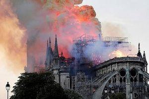 Tổng thống Pháp kêu gọi những kiến trúc sư giỏi nhất xây dựng lại Nhà thờ Đức Bà Paris