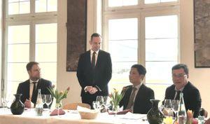 Bộ trưởng Trần Tuấn Anh làm việc với Phó Thủ hiến kiêm Bộ trưởng Bộ Kinh tế, Giao thông, Nông nghiệp và Rượu vang bang Rheinland – Pfalz (Đức)