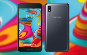 Samsung ra mắt Galaxy A2 Core chạy Android Go, giá 76 USD