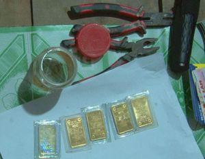 Kẻ gian cạy cửa đột nhập nhà dân trộm 10 lượng vàng SJC
