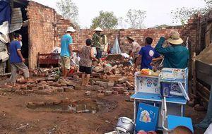 Đắk Lắk: Mưa lớn lốc xoáy làm hư hại hàng chục nhà dân và trường học