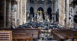 Cháy Nhà thờ Đức Bà Paris: Nạn nhân của phá hoại?