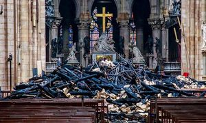 Nhà thờ Đức Bà Paris có thể phục hồi nguyên trạng sau vụ cháy?