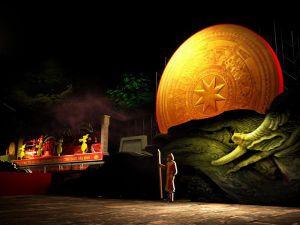 Tái hiện Thần Trống Đồng trong Lễ kỷ niệm 990 năm Thanh Hóa