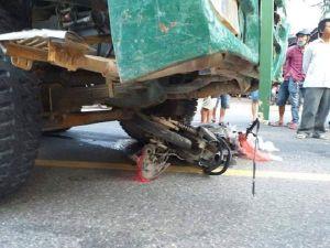 Bất ngờ va chạm với xe tải, người phụ nữ ở Đà Nẵng tử vong tại chỗ