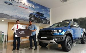 Mua Ford Ranger, người đàn ông Malaysia trúng thêm chiếc bán tải đắt tiền