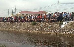 Phát hiện thi thể nam thanh niên nổi trên sông Sậy