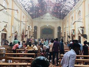 Đánh bom liên hoàn ở Sri Lanka khiến hơn 300 người thương vong