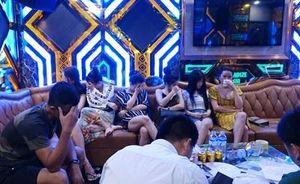 Clip Cảnh sát bắt quả tang dân chơi ma túy, hoạt động mại dâm ở Thiên Đường II và trong 3 khách sạn hạng sang