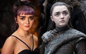 Maisie Williams nói gì về cảnh nóng đầu tiên trong đời của Arya ở tập 2 'Trò chơi vương quyền' mùa 8?