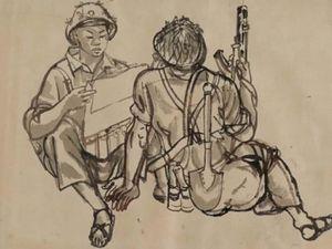 VCCA triển lãm hơn 200 tác phẩm 'Ký ức Đường Trường Sơn'
