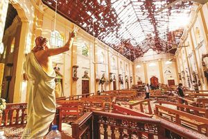 Tang thương ở Sri Lanka