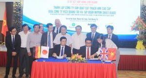 Ký kết hợp đồng liên doanh thành lập Công ty sản xuất Cát thạch anh cao cấp tại Quảng Trị