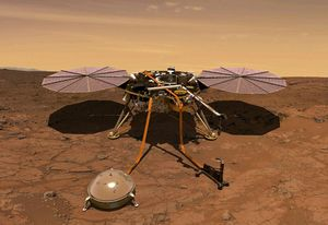 Lần đầu tiên ghi âm được 'động đất' trên sao Hỏa