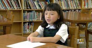 Sinh ra kém may mắn không có 2 bàn tay, cô bé lớp 3 đoạt giải thưởng toàn nước Mỹ cho việc mà hầu hết người bình thường 'bó tay'