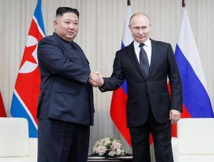 Những hình ảnh của Chủ tịch Triều Tiên Kim Jong-un tại Nga