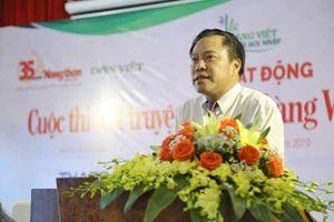Giải thưởng 'khủng' của cuộc thi viết truyện ngắn 'Làng Việt thời hội nhập'