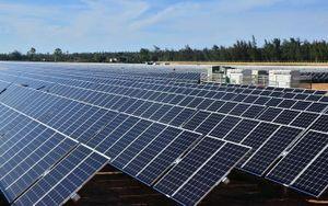 Khánh thành Nhà máy điện mặt trời đầu tiên tại Quảng Ngãi