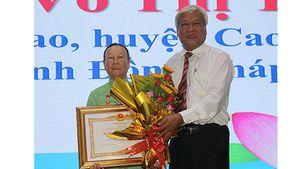 Đồng Tháp: 50 Mẹ được tặng danh hiệu 'Bà Mẹ Việt Nam anh hùng'