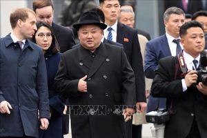 Chủ tịch Triều Tiên Kim Jong-un thăm thành phố Vladivostok