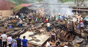Chập điện, 6 căn nhà bị thiêu rụi ở Lai Châu