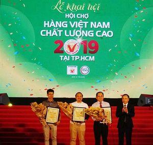 Khai mạc Hội chợ Hàng Việt Nam chất lượng cao 2019