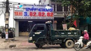Lộ diện người ném 'bom bẩn' vào văn phòng công ty taxi ngày khai trương