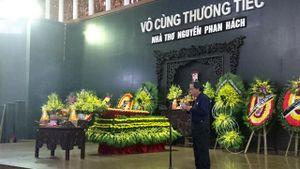 Điếu văn đọc trong tang lễ nhà thơ, nhà văn Nguyễn Phan Hách