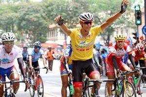 Tay đua Javier giành áo vàng chung cuộc Giải đua xe đạp Cúp Truyền hình TP Hồ Chí Minh lần thứ 31