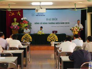 ĐHĐCĐ Phân lân Ninh Bình năm 2019: Ước lợi nhuận đạt 25 tỷ đồng