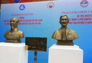 Khánh thành tượng Bác Hồ và anh hùng dân tộc Philippines Jose Rizal tại Thái Nguyên