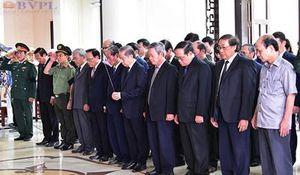 Quê nhà tổ chức Lễ viếng nguyên Chủ tịch nước, Đại tướng Lê Đức Anh