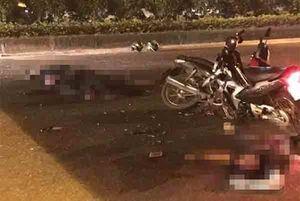 Đại úy cảnh sát cơ động hi sinh khi truy bắt xe máy kẹp 3 người